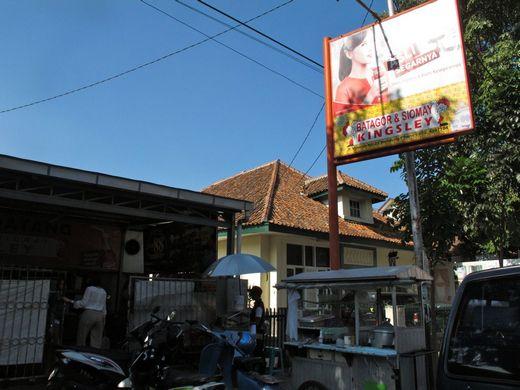 Batagor Kingsley Bandung - the front