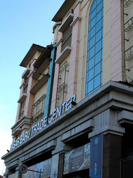 Pasar Baru - the front