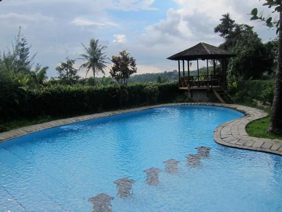 Puri Avia kolam renang private