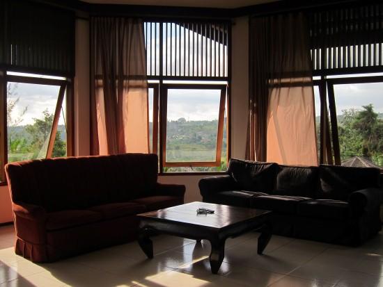 Puri Avia ruang tamu villa